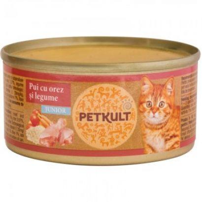 Petkult Cat Kitten Cu Pui 80 Gr.