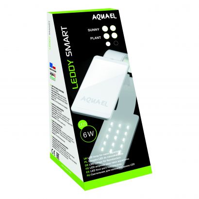 Aquael Lampa Smart Sunny Plus 6 W Neagra 114910