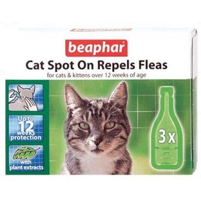 Beaphar Pipeta Antiparaz Pisica Natural 3 Buc