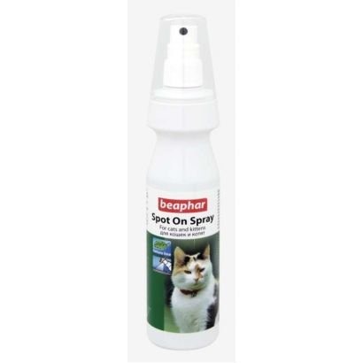 Beaphar Spray Antiparaz Natural Pisica 150 Ml