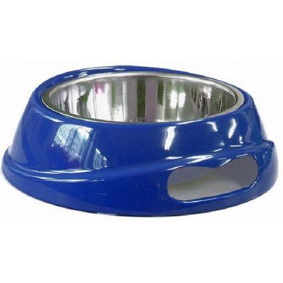 Castron Melamina inox Caini Blue - 700 Ml