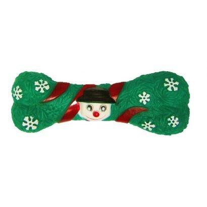 Jucarie Caine Pet Expert Os Christmas Verde 18 Cm