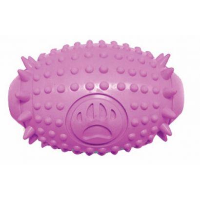 Jucarie Caine Pet Expert Pink Spike Ball Opt63909