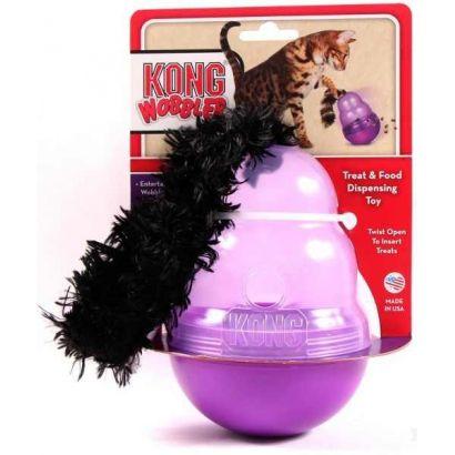 Jucarie Pisica Kong Biscuit Dispenser Wobbler