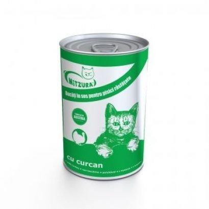 Mitzura Cat Conserva Curcan - 20 Buc x 415 G