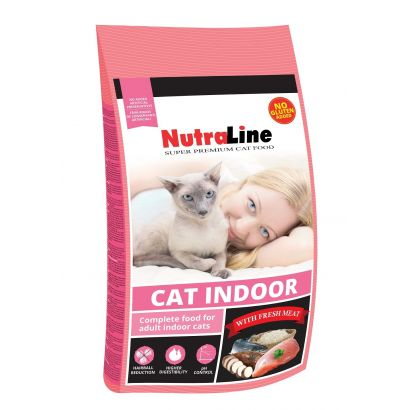 Nutraline Cat Indoor 1.5 Kg