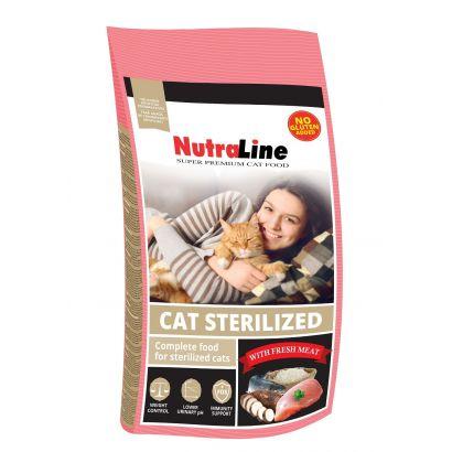 Nutraline Cat Sterilized 1.5 Kg