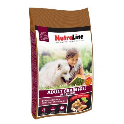 Nutraline Dog Adult Grain Free 12.5 Kg