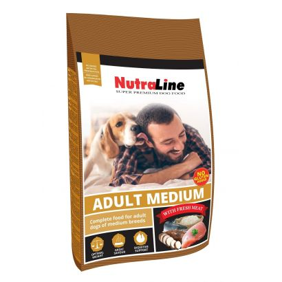 Nutraline Dog Adult Medium 3 Kg