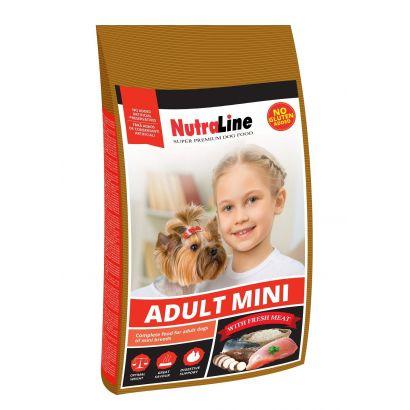 Nutraline Dog Adult Mini 1 Kg