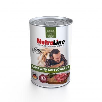 Nutraline Dog Conserva Adult Monoprotein Miel Ulei De Sofranel - 400 G