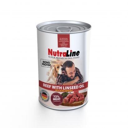 Nutraline Dog Conserva Adult Monoprotein Vita Ulei De In 800 G