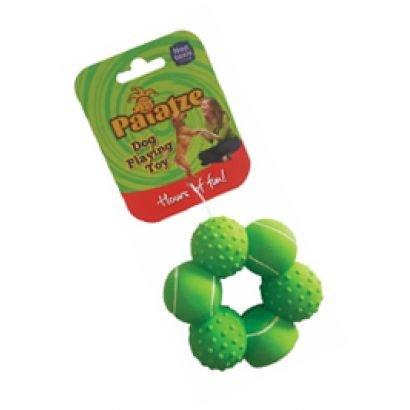 Paiatze Dog Inel Verde 6 Mingi Latex 0035/ 2428