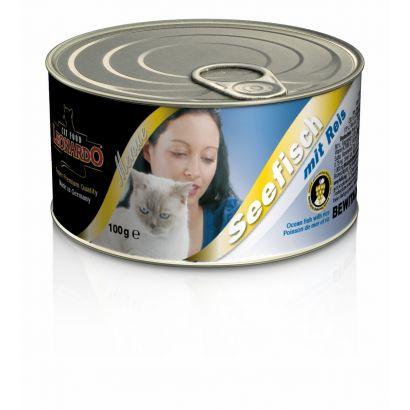 Pate Pisica Leonardo Peste Oceanic - 100 G