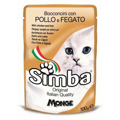 Plic Pisica Simba Pui/ficat - 100gr