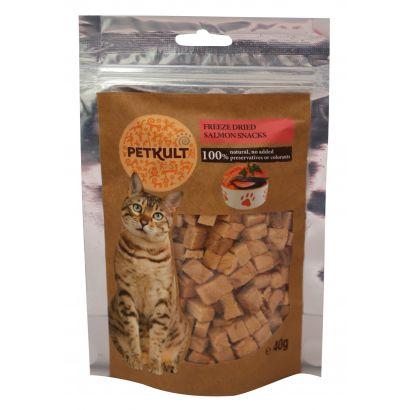 Petkult Cat Snack Somon 40g Gr.