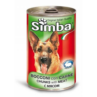 Simba Dog Conserva Vitel 1230 Gr