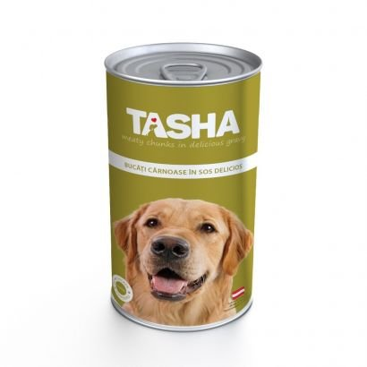 Tasha Dog Conserva Pui 1240 g