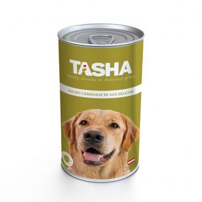 Tasha Dog Conserva Pui 415 G