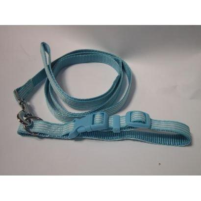 Zgarda/lesa Caine Pet Expert A0108/1.2 12mm/120cm Albastru