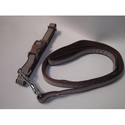 Zgarda/lesa Caine Pet Expert A0108/1.5 15mm/120cm Maro
