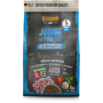 Belcando Junior Grain Free Poultry - 4 Kg
