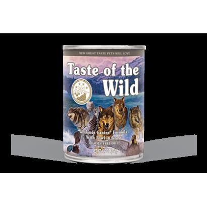 6 x Conserva Taste of the Wild - Wetlands 390 gr.