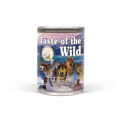 Conserva Taste of the Wild - Wetlands 390 gr.
