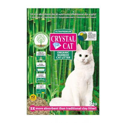 Crystal Cat Bamboo Nr 2 Granulat 3 Kg