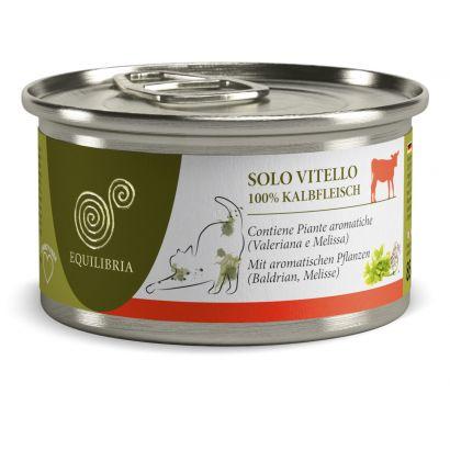 Equilibria Cat - Carne De Vitel (85 Gr.) Conserva