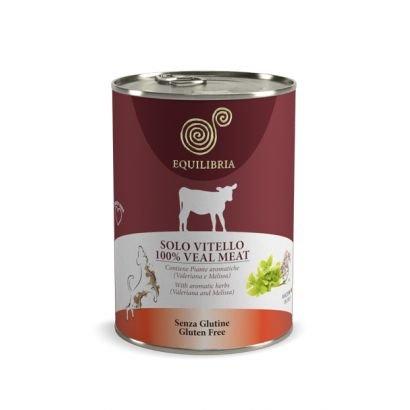 Equilibria Dog - Carne De Vitel (410 Gr.) Conserva