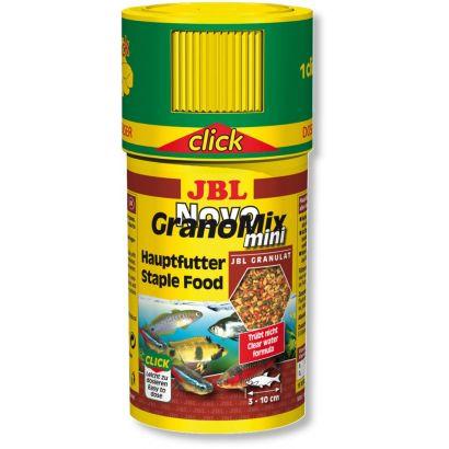 Hrana granule pentru toate speciile JBL NovoGranoMix mini  100ml Click