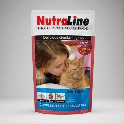 Plic Pisica Nutraline Classic Ton 100 G