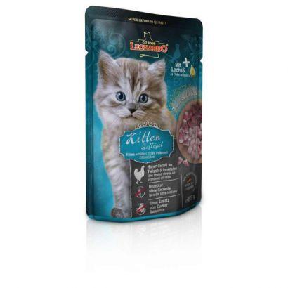 Plic Pisica Leonardo Kitten - 85 Gr