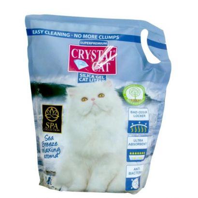 Crystal Cat Nisip Silicatic Sea Breeze 3.8 L