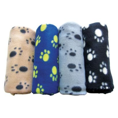 Patura Pet Expert Paws 100x70 Cm Opt52382