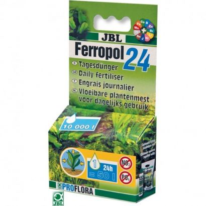Fertilizant lichid JBL Ferropol 24 10 ml pentru 10000 l