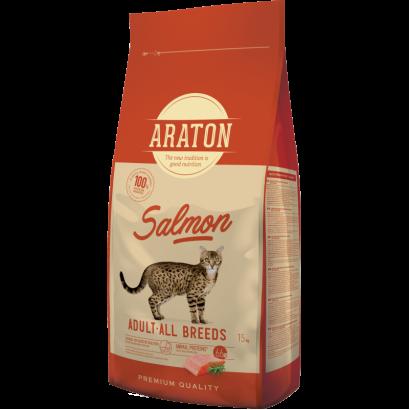 Araton Cat Adult Salmon 15 Kg