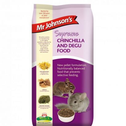 Mr. Johnson`s Supreme Chinchilla/degu 900 Gr