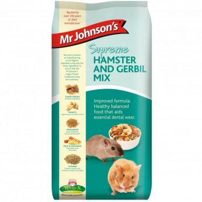 Mr. Johnson`s Supreme Hamster/gerbil Mix 900 Gr