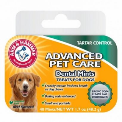 Recompense Caine Arm & Hammer Dental Mints - 40 Buc