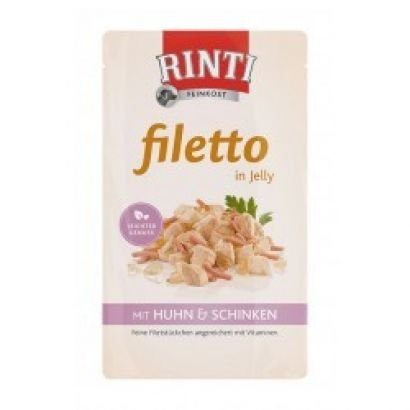 Rinti Plic Filleto Jelly Pui/sunca - 125 Gr.
