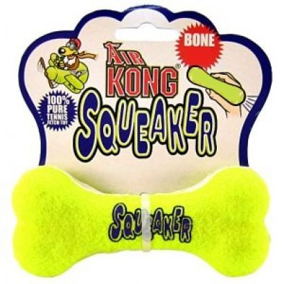Jucarie Caine Kong Squeaker Spinner M