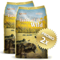 2 x Taste Of The Wild - High Prairie - 13 Kg