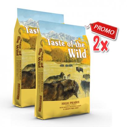 2 x Taste Of The Wild - High Prairie - 12.2 Kg
