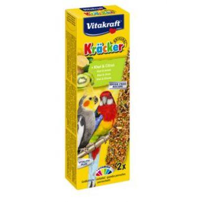 Baton Papagali Mici Vitakraft Kiwi/citrice 2 Buc